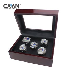 Chinese  Drop shipping 5 PCS Sets 2001 2003 2004 2014 2016 new England patriots championship rings manufacturers