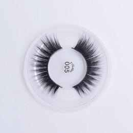 Silk Lash Extensions UK - 3D Silk false eyelashes natural long lasting thick lashes natural dramatic volume eyelashes extension 005
