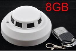 $enCountryForm.capitalKeyWord Canada - 8GB Remote Control Smoke Detector Camera Mini Camcorder Security & Surveillance Cameras H.264 720P Video Camera Night