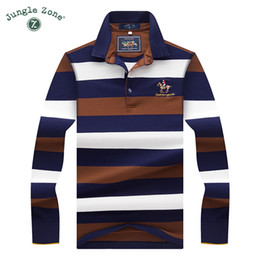 $enCountryForm.capitalKeyWord NZ - Tops Tees Men 'S Polo Shirts Fashion Style Winter Striped Brand Long Sleeve Polo Shirt Men Polos Solid Polo Shirt