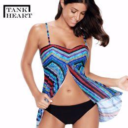 wholesale Plus Size Swimwear Women Push up Bikini Set Tankini Set Two Piece  Swimsuit for girl badpak Bathing Suit Women L-5XL 5696731eaf78