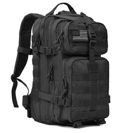 molle packs UK - 2018 Military Tactical Backpack Pack Army Molle Bug Out Bag Backpacks Rucksack for Outdoor Sport Travel Hiking Camping Hunting Daypack 35L