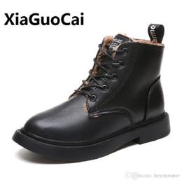 $enCountryForm.capitalKeyWord NZ - New Genuine Leather Women Boots Winter Whit Fur Waterproof Shock Absorption Warm Breathable Wear-resistant Non-slip Women Shoes