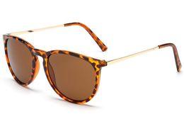 Sun Glasses Leopard NZ - New Fashion Sunglasses For Man Woman Erika Eyewear Designer Brand Sun Glasses Matt Leopard Gradient UV400 Lenses Box and Cases