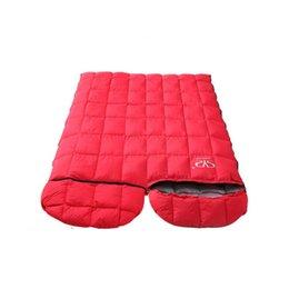 Discount sleeping bag duck - Duck down sleeping bag outdoor winter ultralight camping down sleeping bag minus 15 degrees warm