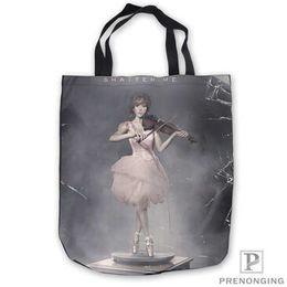 $enCountryForm.capitalKeyWord Australia - Custom Canvas lindsey-stirling-music- Tote Shoulder Shopping Bag Casual Beach HandBag Daily Use Foldable Canvas #180713-07-23