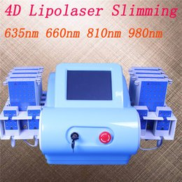 Laser 635nm online shopping - Professional diode lipo laser nm nm nm nm lipolaser slimming machines lipo laser fat removal beauty equipment
