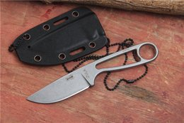 Esee Knives Izula NZ - IZULA 12992 fixed blade knife tactical hunting knife with Rowen D2 blade camping straight ESEE knife outdoor survival tool K Sheath