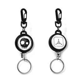 Ring lost online shopping - Good Quality High Rebound Telescopic A Wire Rope Keychains Prevent From Losing Burglarproof Key Ring Keychain hy aa