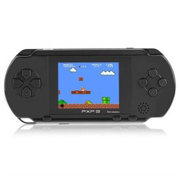 pxp3 16 bit 2018 - 16 Bit Handheld Game Console Portable Video Game Player Retro PXP3 2.7 Inch Mini Pocket Gaming Console Best Xmas Gift fo