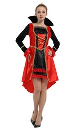 Toy Story Australia - Shanghai Story 2018 Vampire Costumes Witch Queen Cosplay Countess Dress masquerade Halloween cosplay for women