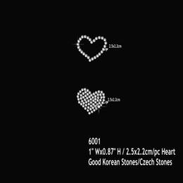 54pcs lot Bling Bling DIY Love Heart Rhinestone Iron On Transfer Hot Fix Motif  Design b82fe2109e27