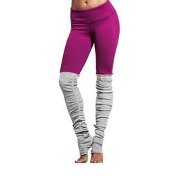 Yoga Tight Leg Pants NZ - 2018 New Goddess Ribbed Leggings High Waist Yoga Pants Breathable Sport Legging Women Fitness Tights Workout Sports Pants