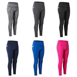 $enCountryForm.capitalKeyWord UK - Plus Size Hip-Up Sport Fitness Pants Women Solid High Waisted Gym Running Tights Stretchy Nylon+Spandex Yoga Pants