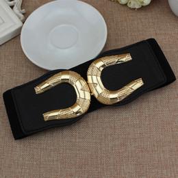 $enCountryForm.capitalKeyWord NZ - All black 65cm long waist belt wide cummerbund strap Dress Adornment For women Waistband