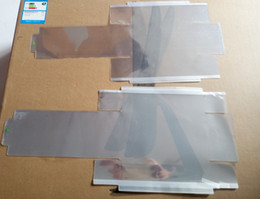 Großhandel Verpackung 30pcs / lot Plastikdichtungs-Film zum Kasten-Paket für iphone 7 7g 7p 7+ 8G 8 8p 8+ plus X XS MAX XR Verpackung Umschlagmembranaufkleber