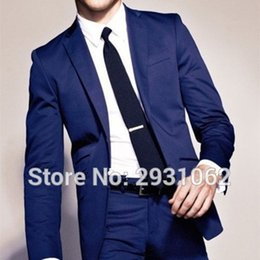 $enCountryForm.capitalKeyWord NZ - NoEnName_Null 2017 CUSTOM MADE TO MEASURE formal MEN SUIT BESPOKE DARK BLUE BUSINESS MEN SUITs CLASSIC WEDDING SUITS FOR