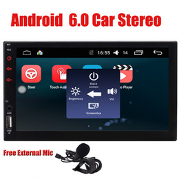 Chinese  Double Din Android 6.0 Quad CoreHead Unit EinCar 2 Din Car Stereo 7'' Touch Screen GPS Sat Navi Navigation System Bluetooth Autoradio manufacturers