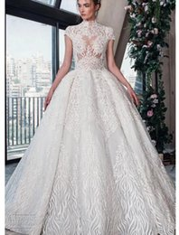 $enCountryForm.capitalKeyWord Australia - 2018 luxury wedding dress high-end Gorgeous wedding dresssA line embellished with 3D flowers, silk threads, sequins, pearls and crystals.09