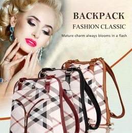 $enCountryForm.capitalKeyWord NZ - Free shipping weekend travel bag Polyester bags for women fashion carry Backpack Style bag Wine red pillow bag Zipper small fresh wholesale