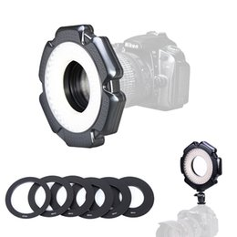 Macro adapter ring online shopping - 160 Macro Photo W LED Camera Video Ring Light Dimmable with Adapter Rings for Camera DSLR