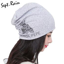 $enCountryForm.capitalKeyWord Australia - Quality Winter Womens Hats Black Rhinestone Letters Knitting Beanies for Women Men Hip Hop Baggy Gorros Bonnet Skullies