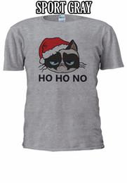 Christmas Vests Women UK - Grumpy Santa Cat Christmas Xmas Crus T-shirt Baseball Vest Men Women Unisex 2664