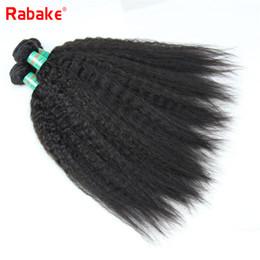 Discount nigeria hair - 8A Malaysian Coase Kinky Virgin Hair 3 or 4 Bundles Rabake Human Hair Weave Nigeria Extensions 100% Unprocessed Bundles