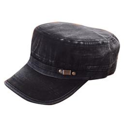 75dc5e66259 Fashion Men Women Summer Caps Unisex Cadet Cap Adjustable Classic Army  Plain Vintage Black Gray Blue Hat hot sale