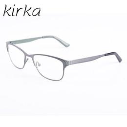4b42eebaff52 Kirka Metal Glasses Frame Oversized Reading Glasses Frame Women Retro  Eyeglass For Women Optical Frames
