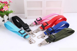 Chinese  Hot Sale 6 Colors Cat Dog Car Safety Seat Belt Harness Adjustable Pet Puppy Pup Hound Vehicle Seatbelt Lead Leash for Dogs manufacturers