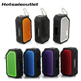 Speaker active online shopping - Original Wismec Active W BOX MOD Bluetooth Speaker Waterproof Vaporizer Fit AMOR NS NSE Tank Electronic Cigarette MOD