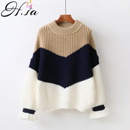 66a15801893661 H.SA Winter Pull Sweaters Women 2017 Fashion Loose Jumpers Korean Pullovers  Knitting Pullovers Thick Christmas Sweater Unif Y1891803