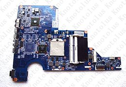 Hp Cq62 Laptop UK - 597674-001 for HP G62 CQ62 laptop motherboard DDR3 amd Free Shipping 100% test ok