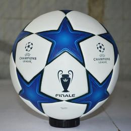 Balón de fútbol europeo de la taza de los campeones de la liga para el tamaño  oficial del juego 5 Bolas de entrenamiento antideslizantes inconsútiles del  ... 684a69c9273b5