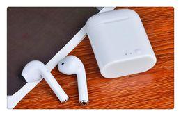 Venta al por mayor de Venta al por mayor Bluetooth I7S auriculares inalámbricos auriculares invisibles con micrófono estéreo bluetooth 4.1 auricular para iPhone x Android