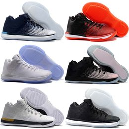 Woman shoes size 31 online shopping - Top Quality XXXI Low Black Cat Banned California Michigan George Sports Basketball Shoes for Airs s Men s Sneakers Size