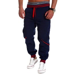 Discount wholesale pants for men - New 100% Brand New Men European American Style Loose Harem Pants Sweatpants For Dancing Hot