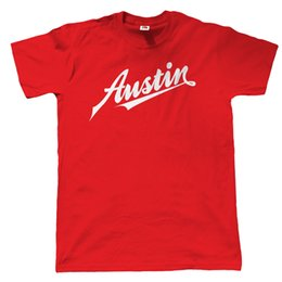 b6046b897 Austin T-Shirt - Mini Cooper A40 A7 Cambridge Classic Retro Car 70's 80's  Funny free shipping Unisex Casual tshirt gift