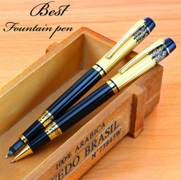 086505681499 Luoshi Original Brand Hero Business Fast Writing Metal Ink Fountain Pen  Luxury Gift Fast Writing Pen