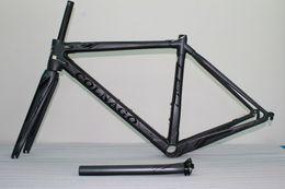$enCountryForm.capitalKeyWord NZ - Black logo Colnago C60 Carbon Road bike Frame full carbon fiber bicycle Frame+ Seatpost+ Fork+ Clamp+ Headset C62