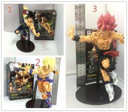 $enCountryForm.capitalKeyWord NZ - 6pcs DHL 3Style Dragon ball Z SCultures BIG Resurrection F Super Saiyan Son Goku PVC Figure Toy with retail box