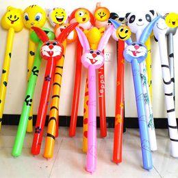 W Toys Australia - Baby Cartoon Animal Toy Long Inflatable Stick Children Birthday Fun Inflatables Strike Rod Parent Child Communication 2 25cy W