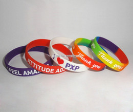 $enCountryForm.capitalKeyWord Australia - Discount!!Customized any color silicone wristband, promotion gift, silicone bracelet, printed logo silicone bracelet 500pcs lot