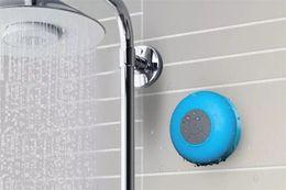 Shower Iphone Speaker NZ - Mini BTS-06 Portable Waterproof Wireless Bluetooth Speaker Shower Car Handsfree Receive Call Mini Subwoofer Suction Phone IPX4 Speakers
