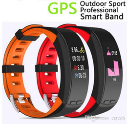 Korean Gps Australia - Newest P5 Sport Oled Smart Watch Band Bracelet Heart Pressure Fitness CalorieWristband waterproof Sleep GPS Tracker Pedometer