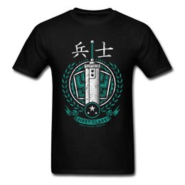 China Mens Spring Clothing Finest Soldier Doom T Shirt For Men Chinese Kanji Pattern T-Shirts Warrior Logo Designers Tshirt Cotton supplier warriors clothes suppliers