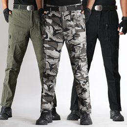 Wholesale Military Snow Camouflage Pants Cotton Cargo Pants Men Army Tactico Combat Trousers Tactical Working Clothes Pantalon Cargo Homme