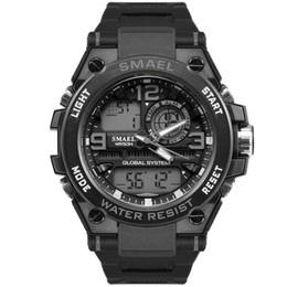 $enCountryForm.capitalKeyWord UK - SMAEL Sport Watches Golden S-shock Watch Waterproof Dual Time Auto Date Electronics Male Clock 1603 Mens Watches Digital Watch