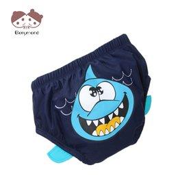 Hot Girls Diapers UK - New Hot Summer Baby Boys Swim Diaper Bag Boys Swim Panties Training Underwear Baby Reusable Swim Diaper Kids Cloth Diapers